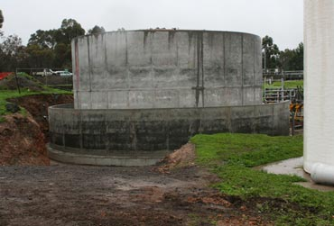 Above ground waste water tanks Melbourne
