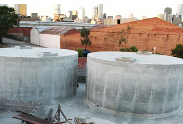 Commercial concrete tanks for Chemical storage