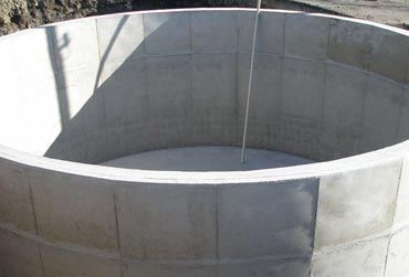 Above ground concrete tanks Victoria