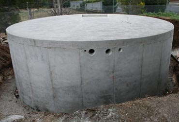 Rain water or Grey water tank