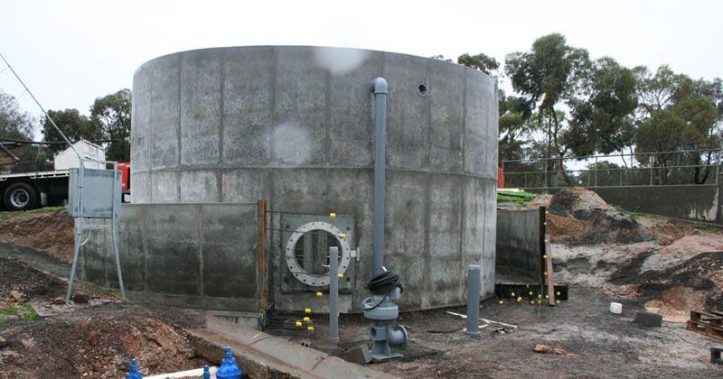 Concrete Water Tanks Domestic Industrial Rural